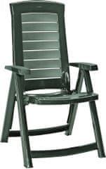 Allibert vrtni stol ARUBA, zelen