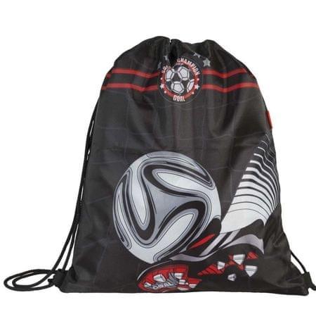 Target vrečka za copate Football Black 17880