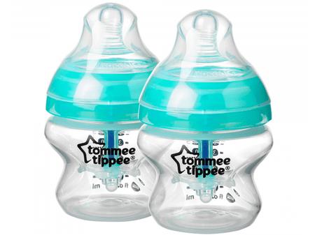 Tommee Tippee steklenička C2N ANTI-COLIC, 150ml, 0m+, 2 kosa