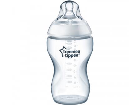 Tommee Tippee steklenička C2N za gostejšo tekočino, 340 ml, 6m+