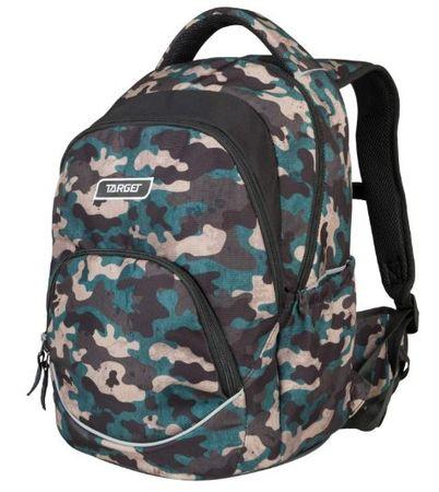 Target nahrbtnik Flow Pack Melange Army 21863