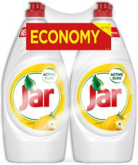 Jar detergent za pomivanje posode, limona, 2 x 900 ml