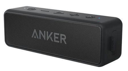 Anker prenosni bluetooth zvočnik SoundCore 2, črn