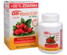 GreenSwan GS Vitamin C 500 + šípky 100 tbl. + 20 tbl. ZDARMA