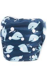 Bobánek Strój kąpielowy dla dzieci, Niebieskie wieloryby