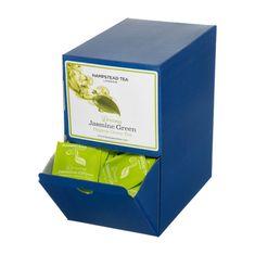 Hampstead Tea London BIO zelený čaj s jasmínem a bergamotem 250ks