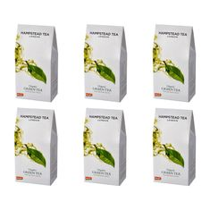 Hampstead Tea London BIO zelený sypaný čaj 100g x 6