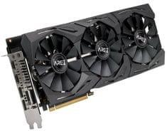 Asus grafična kartica AREZ Strix Radeon RX 580 OC, 8 GB GDDR5, PCI Express 3.0