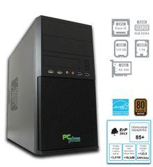 PCplus namizni računalnik e-m@chine i5-7400/8GB/120GB+1TB/RX560/FreeDOS (137010)