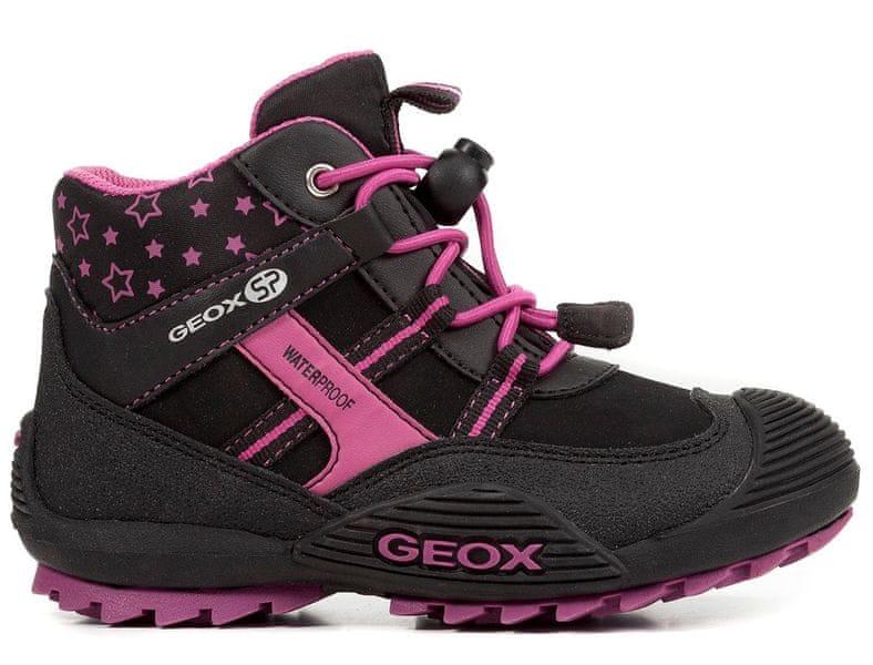 000d14467d7 Geox dívčí kotníkové boty Atreus 35 černá