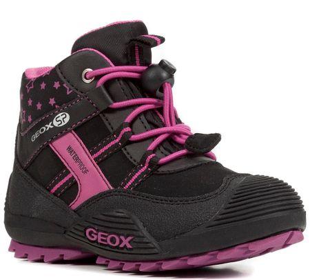 Geox dívčí kotníkové boty Atreus 27 černá  56fa440482