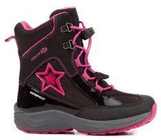 Geox buty zimowe za kostkę dziewczęce New Alaska