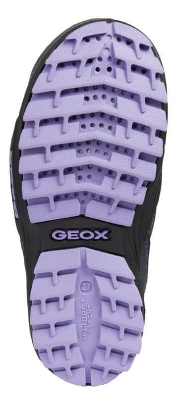 ... 7 - Geox dívčí kotníkové boty Atreus 28 modrá cea514a5ac