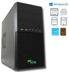 PCplus namizni računalnik e-m@chine i5-7400/8GB/120GB+1TB/Win10PRO (137007)