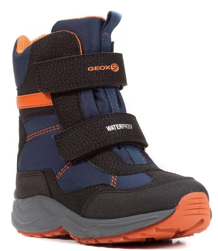 ... 2 - Geox chlapecké zimní boty New Alaska 24 černá modrá ... ae8c766e04