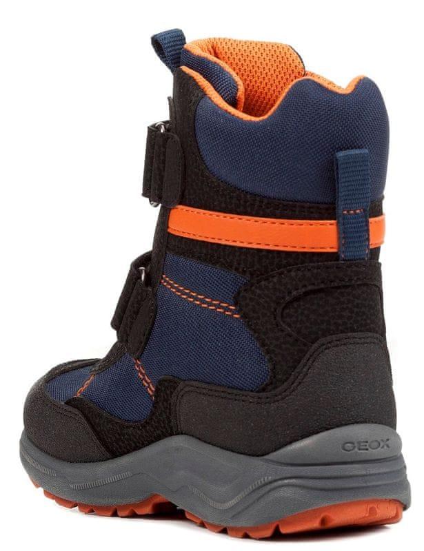 0bdd8218d87 ... 4 - Geox chlapčenské zimné topánky New Alaska 29 čierna modrá ...
