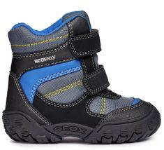 Geox chlapčenské zimné topánky Gulp
