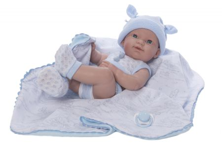 Nines Lalka chłopiec ze smoczkiem