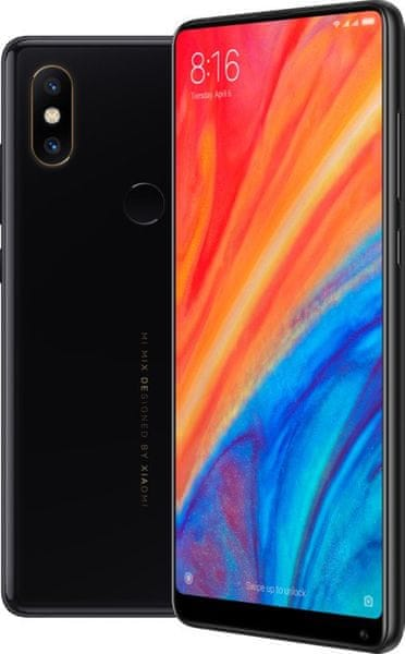 Xiaomi Mi MIX 2S, 6GB/128GB, Global Version, černý