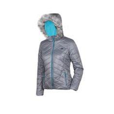 4F ženska zimska jakna T4Z16-KUD004, srebrna
