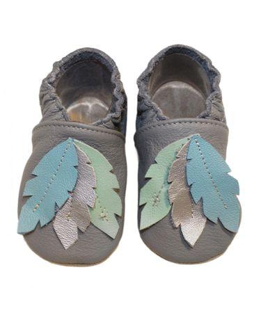 baBice cipele za dječake s lišćem, 16,5, sive