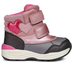 Geox dziewczęce buty zimowe za kostkę New Gulp