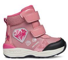 Geox dívčí zimní boty New Gulp