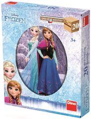 Dino Frozen 20 dřevěných kostek
