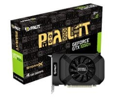 PALiT grafična kartica StormX GeForce GTX 1050 Ti, 4 GB GDDR5