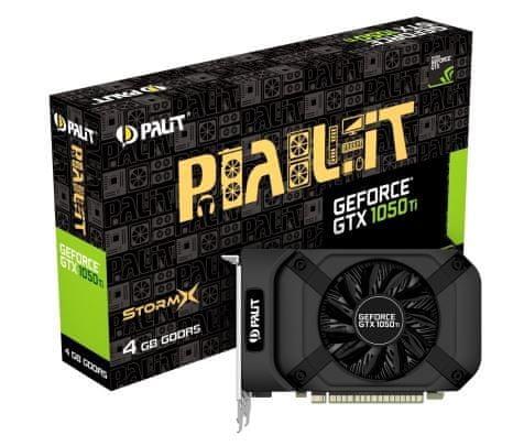 PALiT grafička kartica StormX GeForce GTX 1050 Ti, 4 GB GDDR5