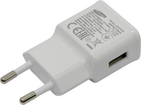 Samsung hišni polnilec 220 V adapter EP-TA12 2A, bel