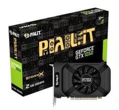 Palit grafična kartica StormX GeForce GTX 1050, 2GB GDDR5