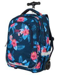 Target nahrbtnik na kolesih Floral Blue 21947