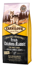 Carnilove Dog Fresh Chicken & Rabbit 12kg