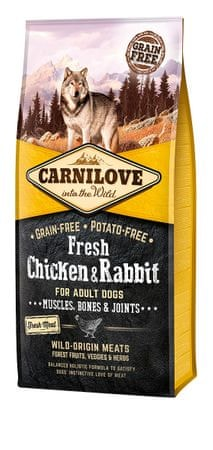 Carnilove Dog Fresh Chicken & Rabbit 12kg