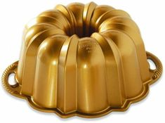 Nordic Ware Forma na bábovku Anniversary malá, zlatá