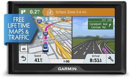 Garmin Drive 61S Lifetime Europe20 navigáció