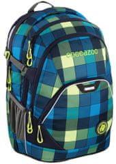 CoocaZoo EvverClevver2 iskolai hátizsák, Lime Distric