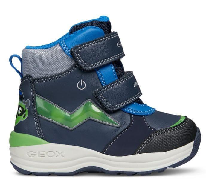 Geox chlapecke zimni boty omar 24 modra levně  cd36a4e19b