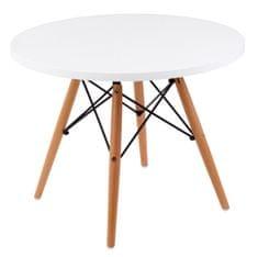 Mørtens Furniture Konferenční stolek Desire, 60 cm, bílá