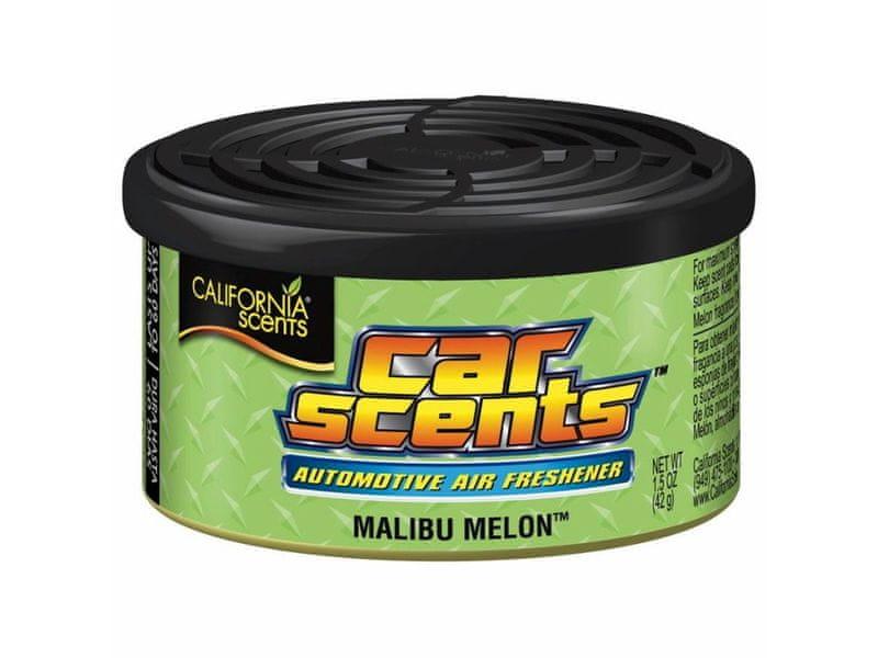 California Scents Vůně do auta Car Scents - Malibu Melon (meloun), ovocná vůně, výdrž 2 měsíce