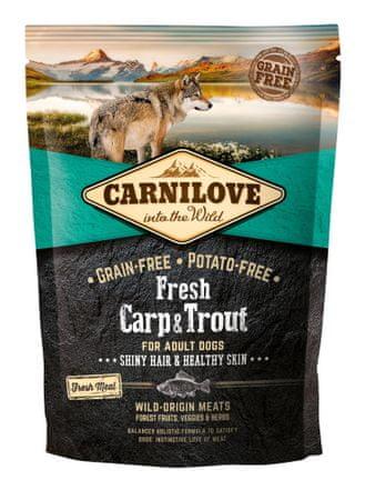Carnilove Dog Fresh Carp & Trout 1,5kg