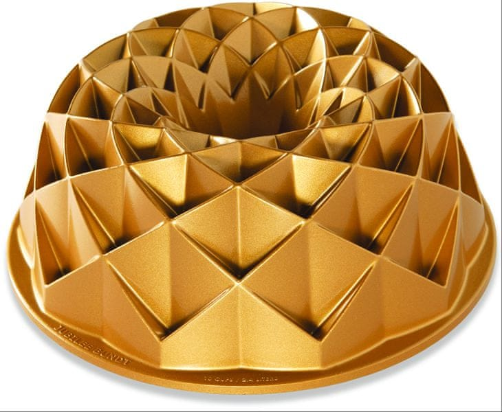 Nordic Ware Forma na bábovku Jubilee, zlatá