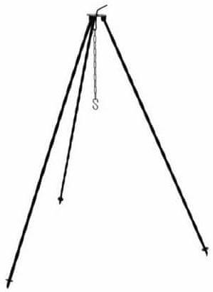 J.A.D. TOOLS trinožno stojalo za kotliček s kavljem, 120 cm