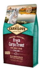 Carnilove Fresh Carp & Trout Sterilised for Adult cats 2 kg