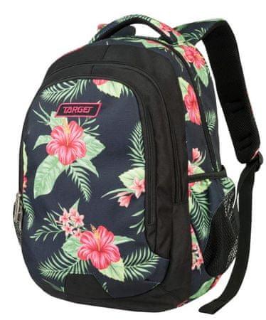 Target nahrbtnik Be Pack Floral Black 21907