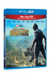 Black Panther 3D+2D (2 disky)   - Blu-ray