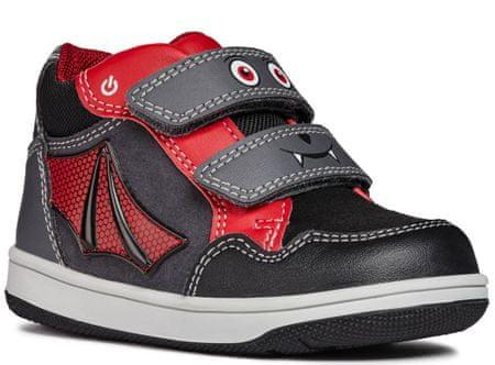 4ea9df959b7 Geox chlapecké kotníčkové boty New Flick 23 tmavě šedá