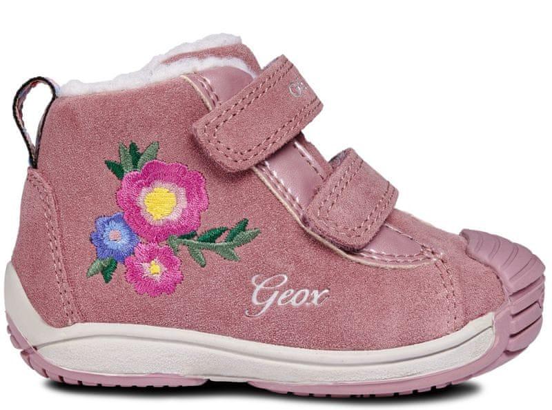 Geox dívčí kotníkové boty Toledo 19 růžová