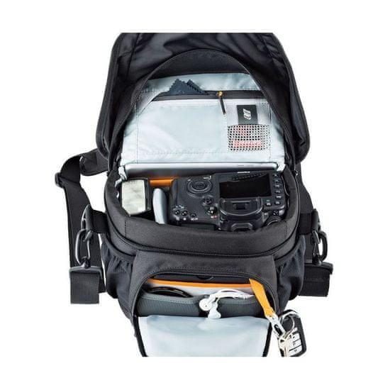 Lowepro naramna torba Nova 160 AW II, pixel camo